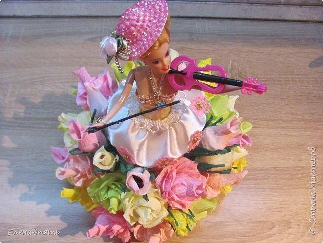 Именинница ходит в музыкальную школу,вот и кукла -коллега для неё! фото 5