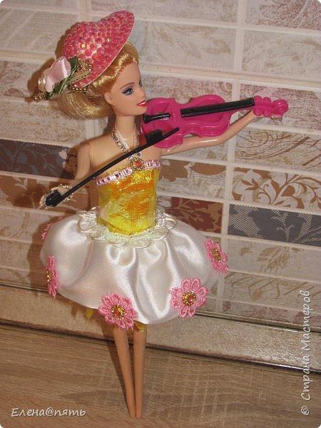 Именинница ходит в музыкальную школу,вот и кукла -коллега для неё! фото 10