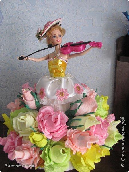 Именинница ходит в музыкальную школу,вот и кукла -коллега для неё! фото 3
