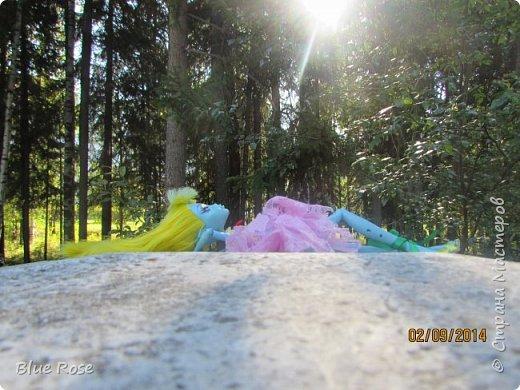 Вечер первого дня прогулок. Роу и Лагуна Роу (кукла Светы Волка) Ходили вместе со Светой она тоже фоткала. фото 7