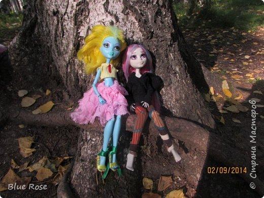 Вечер первого дня прогулок. Роу и Лагуна Роу (кукла Светы Волка) Ходили вместе со Светой она тоже фоткала. фото 12