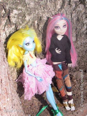 Вечер первого дня прогулок. Роу и Лагуна Роу (кукла Светы Волка) Ходили вместе со Светой она тоже фоткала. фото 13