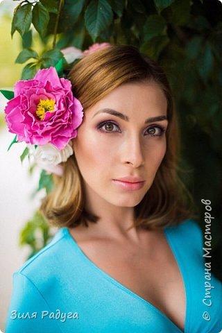 Фотосессия с моими цветами фото 1