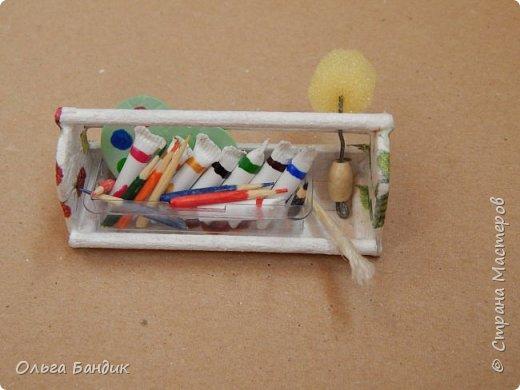 Всем привет! Сегодня я покажу как мы мастерили маленькие ящички для кукольных принадлежностей. Вот такие они вышли в итоге... фото 9