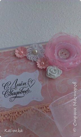 Свадебная коробочка для денежного подарка фото 3