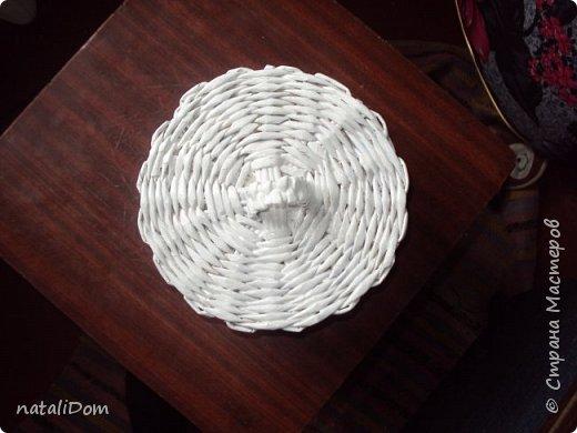 Плетеный лоток для пасхальных яиц фото 4