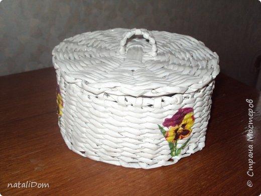 Плетеный лоток для пасхальных яиц фото 3