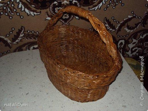 Плетеный лоток для пасхальных яиц фото 5