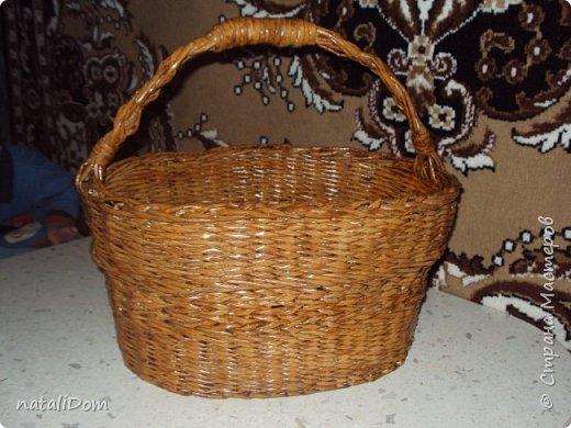 Плетеный лоток для пасхальных яиц фото 6