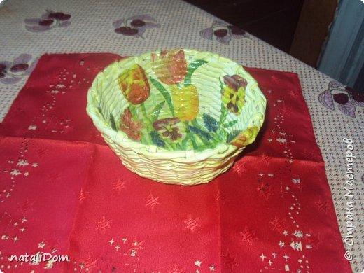 Плетеный лоток для пасхальных яиц фото 7
