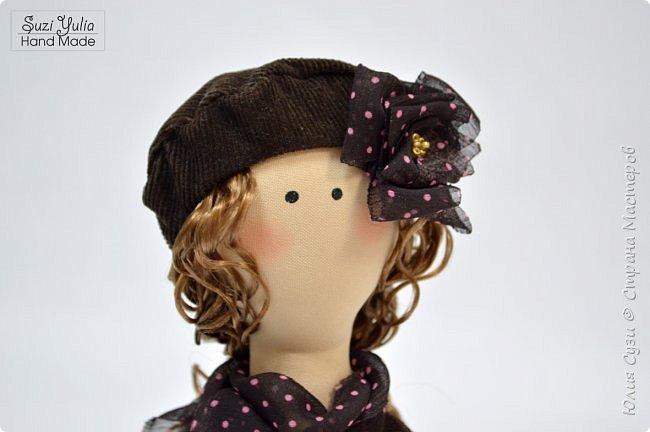 Куколка для коллеги по работе) Платье из американского хлопка, очень приятно с ним работать! фото 6