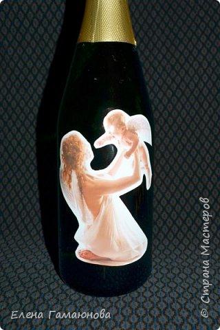 Бутылка на рождение сына фото 3