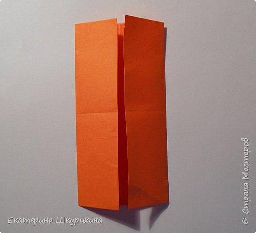 Вот такое чудо собралось. Визуально похоже на одно из творений Томоко Фусэ, но различаются в сборке.  Name: Hoffnung Parts:30 Paper:10*10 Final heigh:~9 cm фото 4