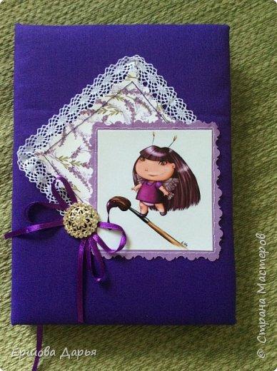 Вот такой блокнотик делала в подарок девочке-подростку, которая очень любит рисовать) фото 1