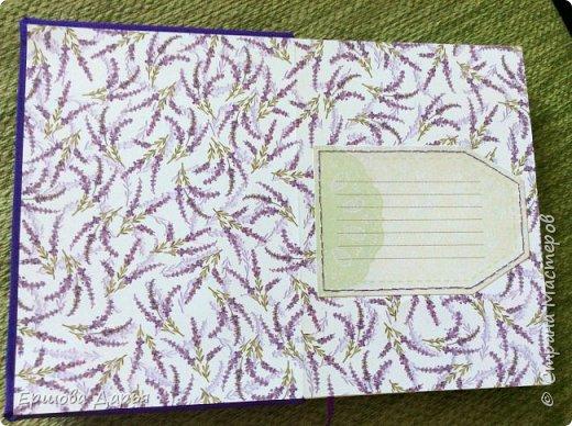 Вот такой блокнотик делала в подарок девочке-подростку, которая очень любит рисовать) фото 2
