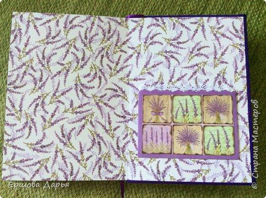 Вот такой блокнотик делала в подарок девочке-подростку, которая очень любит рисовать) фото 3
