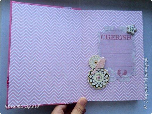 Вот такой блокнотик делала в подарок девочке-подростку, которая очень любит рисовать) фото 5
