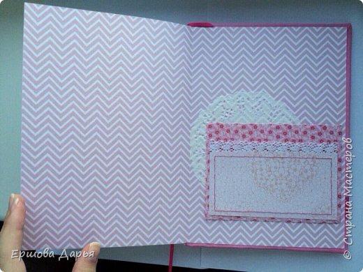 Вот такой блокнотик делала в подарок девочке-подростку, которая очень любит рисовать) фото 6