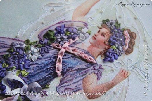 Общее фото работы в багете , размер 39 * 47.5 см фото 3
