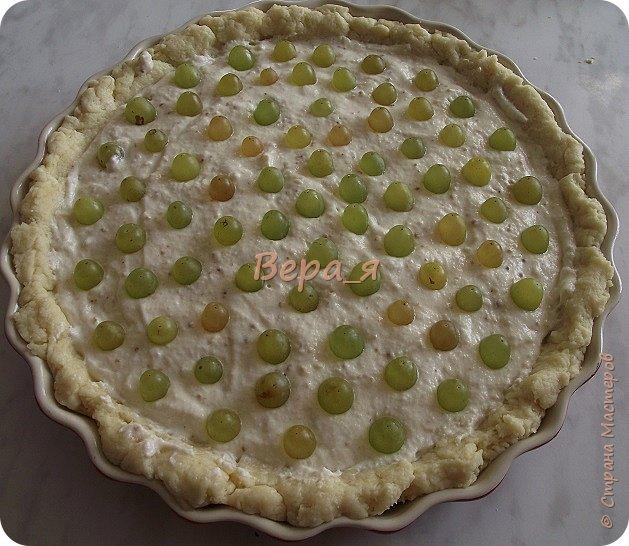 Кулинария Мастер-класс Рецепт кулинарный Творожно-виноградный пирог Продукты пищевые фото 23