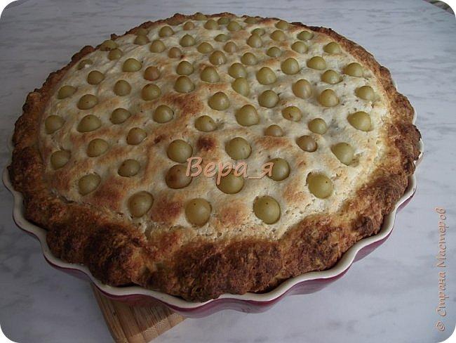 Кулинария Мастер-класс Рецепт кулинарный Творожно-виноградный пирог Продукты пищевые фото 25