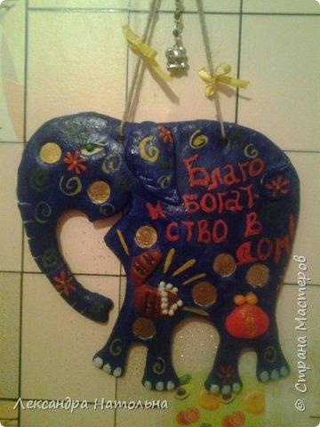 Привет всем...вот такого слоника я подарила сестре))) фото 1