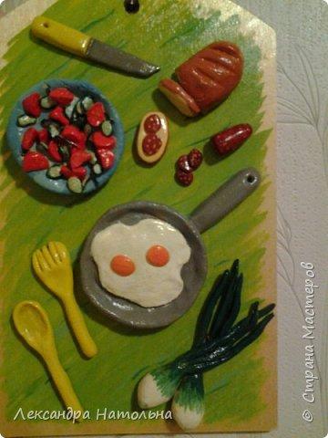 Привет всем)Вот такие досочки я сделала на кухню маме)))Идея мамина а воплощение мое) фото 2