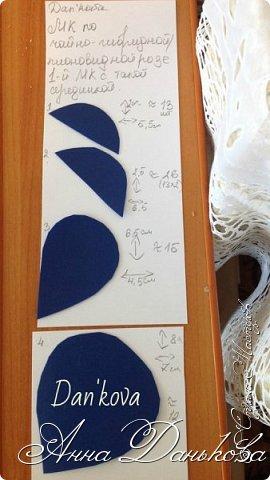 Поделка изделие Моделирование конструирование Мастер-класс Чайно-гибридная пионовидная роза из фоамирана с круглой серединкой Фоамиран фом фото 2