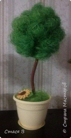 Это мое самое первое дерево. Делала по мастер-классу https://stranamasterov.ru/node/31870. фото 2