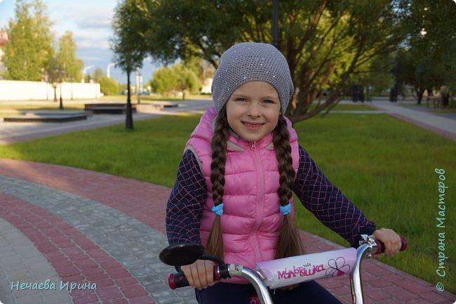 Новая шапочка на теплую осень, холодное лето... фото 1