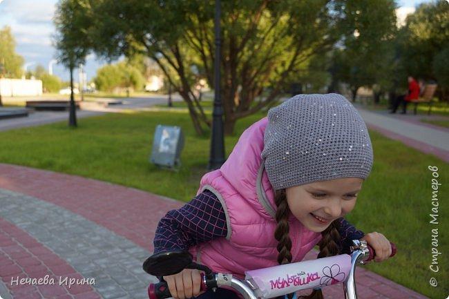 Новая шапочка на теплую осень, холодное лето... фото 3