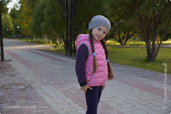 Новая шапочка на теплую осень, холодное лето... фото 6