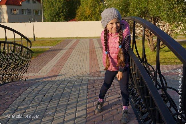 Новая шапочка на теплую осень, холодное лето... фото 7
