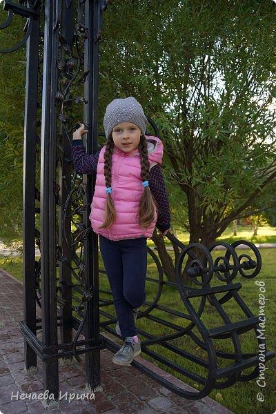 Новая шапочка на теплую осень, холодное лето... фото 10