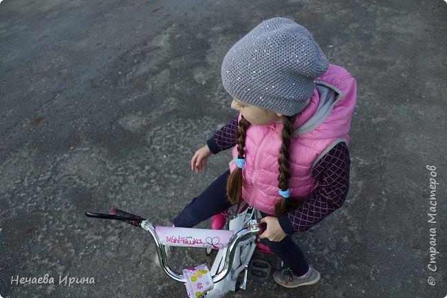 Новая шапочка на теплую осень, холодное лето... фото 13