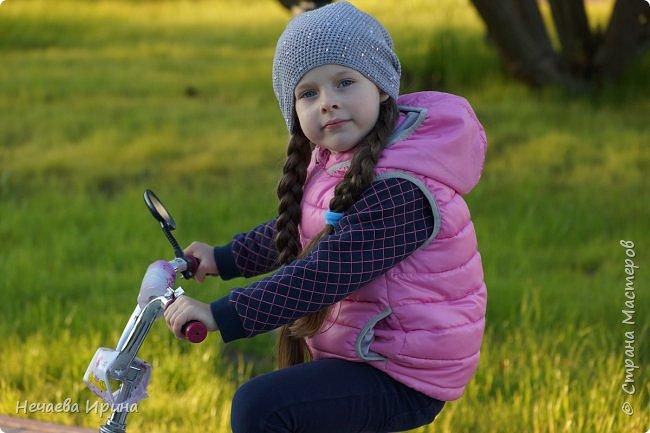 Новая шапочка на теплую осень, холодное лето... фото 15