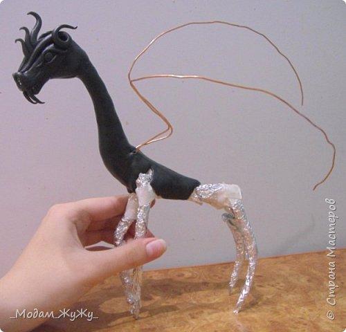 Мастер-класс Скульптура Лепка Роспись МК по созданию неизвестного науке да и пожалуй самой мне существа = Краска Пластика фото 13
