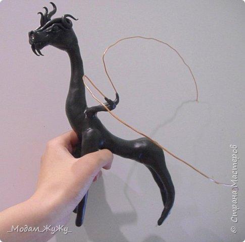 Мастер-класс Скульптура Лепка Роспись МК по созданию неизвестного науке да и пожалуй самой мне существа = Краска Пластика фото 15
