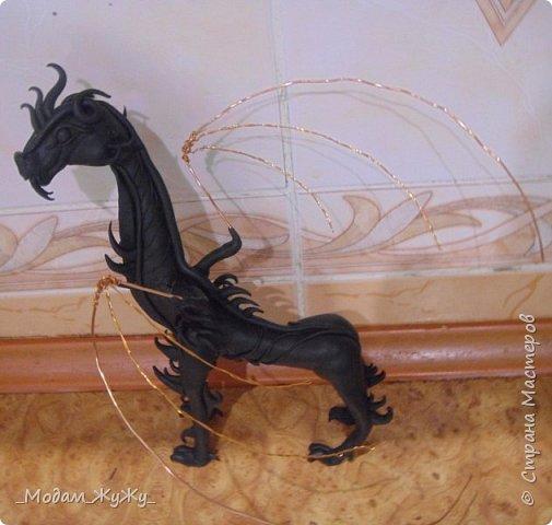 Мастер-класс Скульптура Лепка Роспись МК по созданию неизвестного науке да и пожалуй самой мне существа = Краска Пластика фото 17