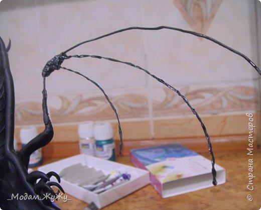 Мастер-класс Скульптура Лепка Роспись МК по созданию неизвестного науке да и пожалуй самой мне существа = Краска Пластика фото 20
