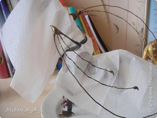 Мастер-класс Скульптура Лепка Роспись МК по созданию неизвестного науке да и пожалуй самой мне существа = Краска Пластика фото 24