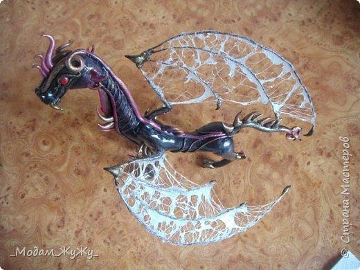 Мастер-класс Скульптура Лепка Роспись МК по созданию неизвестного науке да и пожалуй самой мне существа = Краска Пластика фото 26