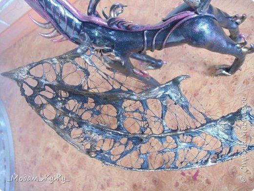 Мастер-класс Скульптура Лепка Роспись МК по созданию неизвестного науке да и пожалуй самой мне существа = Краска Пластика фото 28