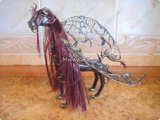 Мастер-класс Скульптура Лепка Роспись МК по созданию неизвестного науке да и пожалуй самой мне существа = Краска Пластика фото 30