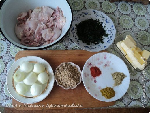 Гурули, грузинское блюдо из курицы  фото 2