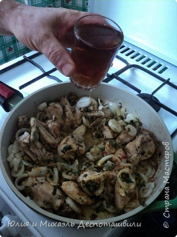 Гурули, грузинское блюдо из курицы  фото 5