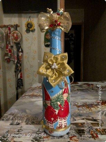 Новогодние бутылки фото 4