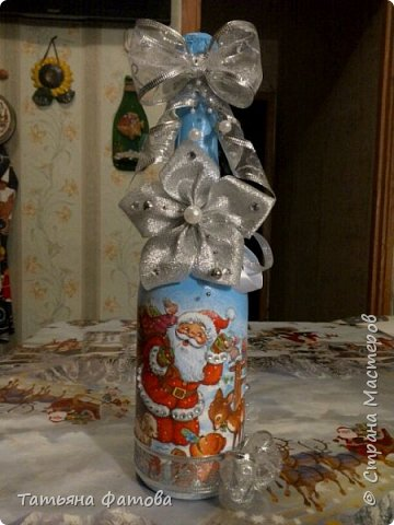 Новогодние бутылки фото 6