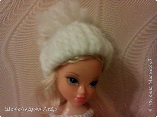 Сегодня я сделала по мк Лилии шапочки для кукол  фото 3