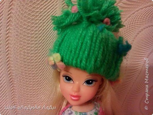 Сегодня я сделала по мк Лилии шапочки для кукол  фото 4